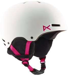 A beautiful Anon helmet for ladies