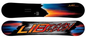A snowboard pick for beginners who like style