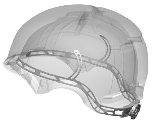 The K2 Stash helmet fit system