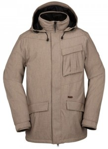 Volcom's comfortable snowboard and ski jacket