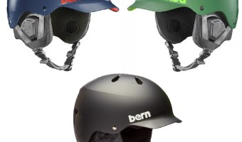 A review of the new Bern Watts EPS snowboard and ski helmet