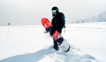Here's a nice guide with tips and tricks on how to learn to snowboard