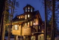 Check out the stars in Tamarack's turret!