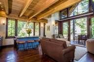 This spectacular luxury vacation rental showcases indoor outdoor living [Ponderosa]