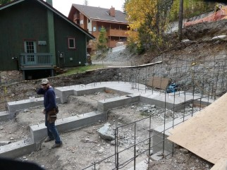 Cedar's foundation is poured