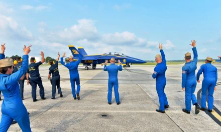 National Naval Aviation Museum Hosts Snowbird Events