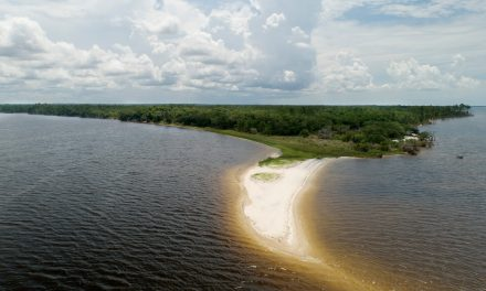 Oyster Reef Construction begins in Pensacola's East and Blackwater Bays