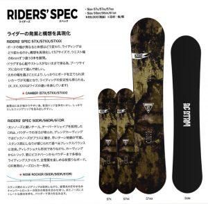 RIDERS'SPEC 青木玲モデル