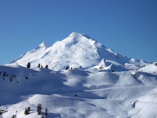 Mt Baker ski resort sidecountry and Mt. Baker