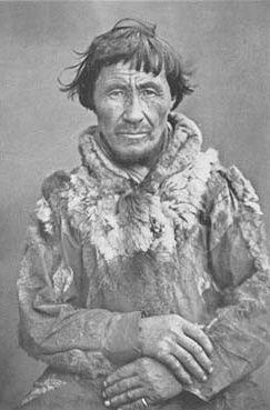 A Sea Sami man from Norway by Prince Roland Bonaparte in 1884
