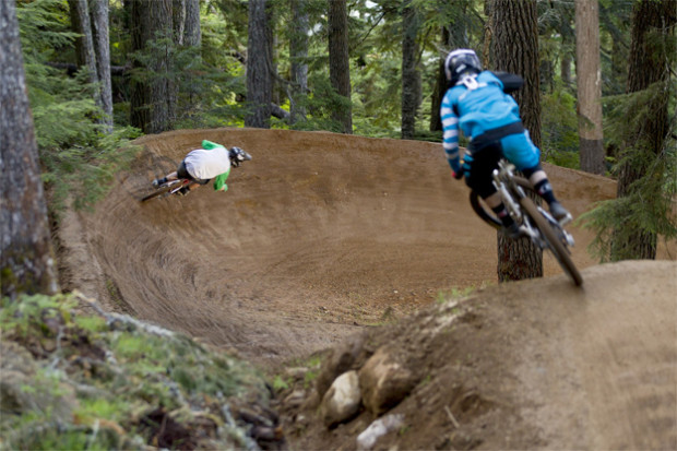 Perfect berm at Whistler