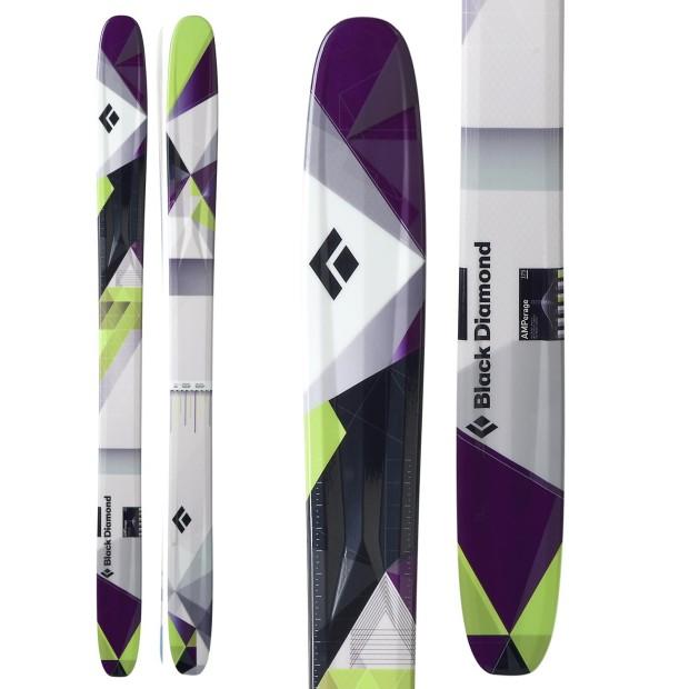 Black Diamond's 2011/12 AMPerage ski.