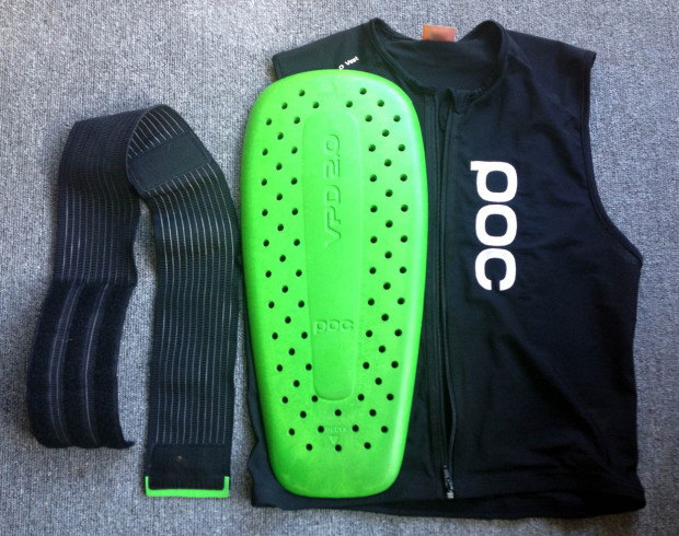 Back Protector Parts