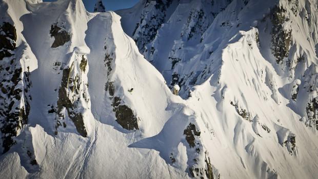 Ian Provo in the Tordrillo Mountains, AK.
