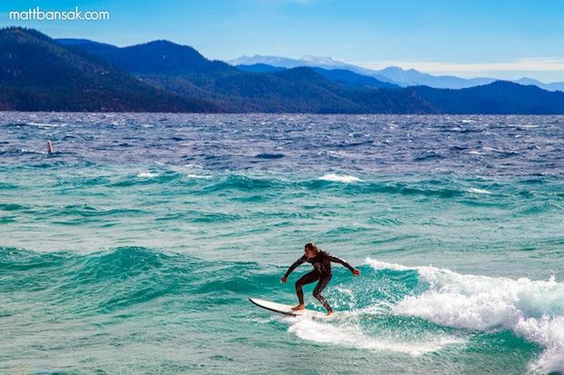 Surfing Lake Tahoe CA Sunday Video Amp 18 Photos SnowBrains