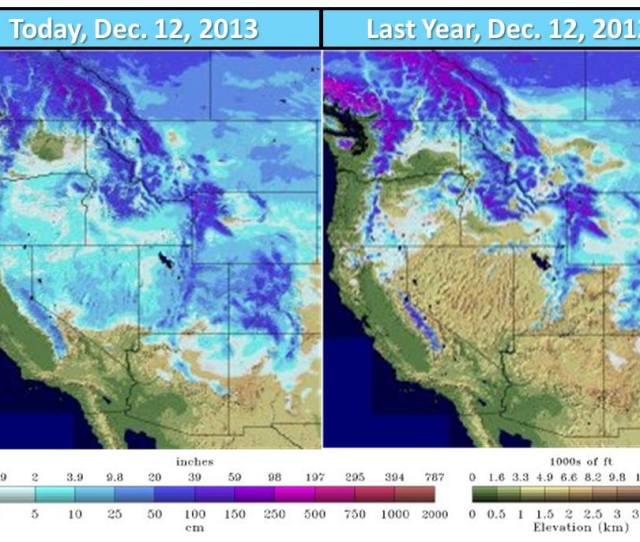 Snow Cover Usa