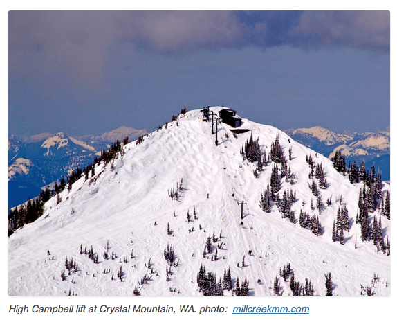 buy ski lift chair floating fishing avalanche @ crystal mountain, wa destroys #1 chairlift in pnw yesterday - snowbrains