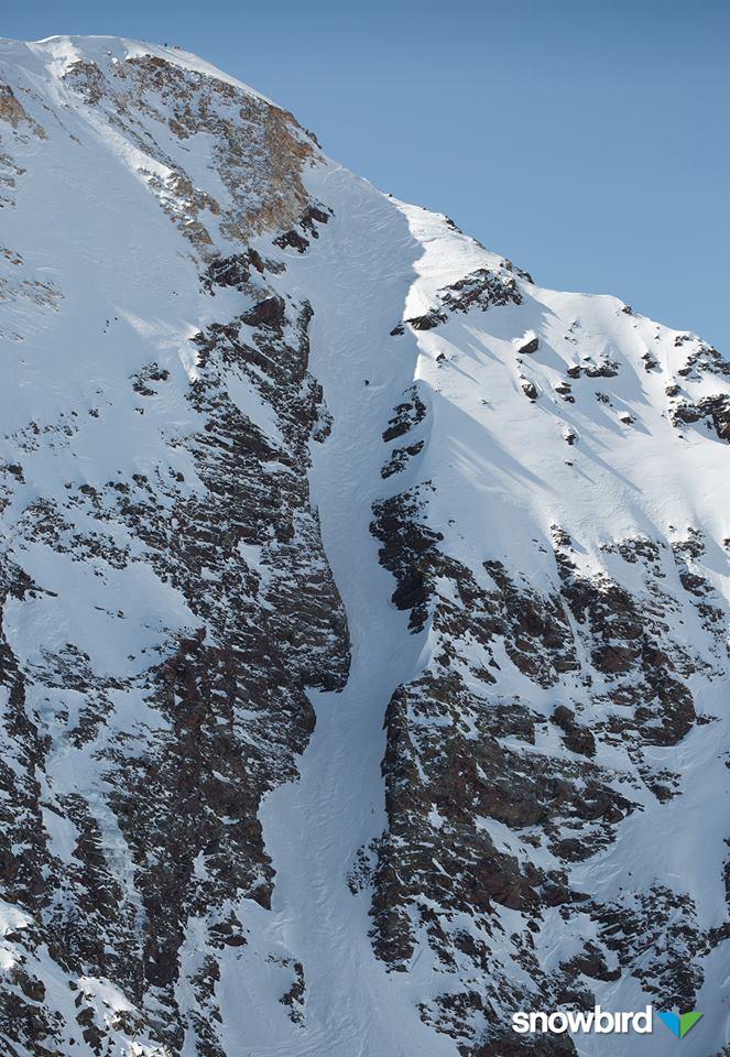 Pipeline Couloir - Snowbird Credit: Snowbird