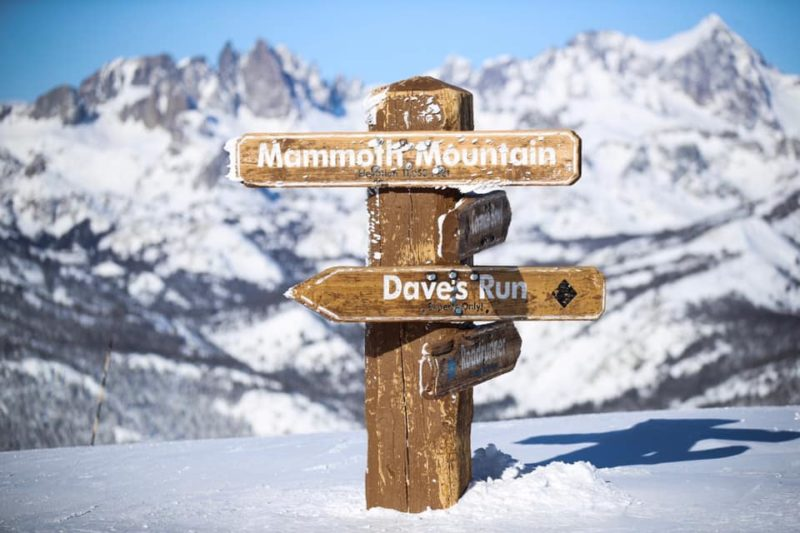 Mammoth Mountain Snowiest Months