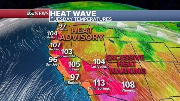 San Francisco, california, heatwave, record temperatures
