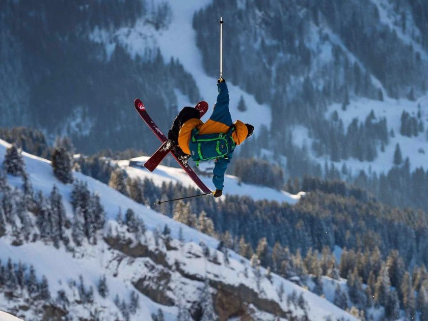 Candide Thovex in flow.