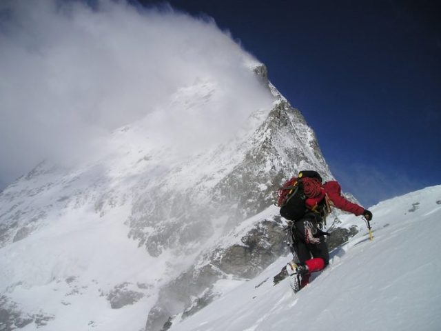 Mountaineering Gear, crowded