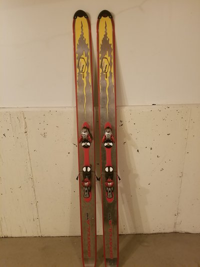 Volant Spatula skis. Photo credit: newschoolers