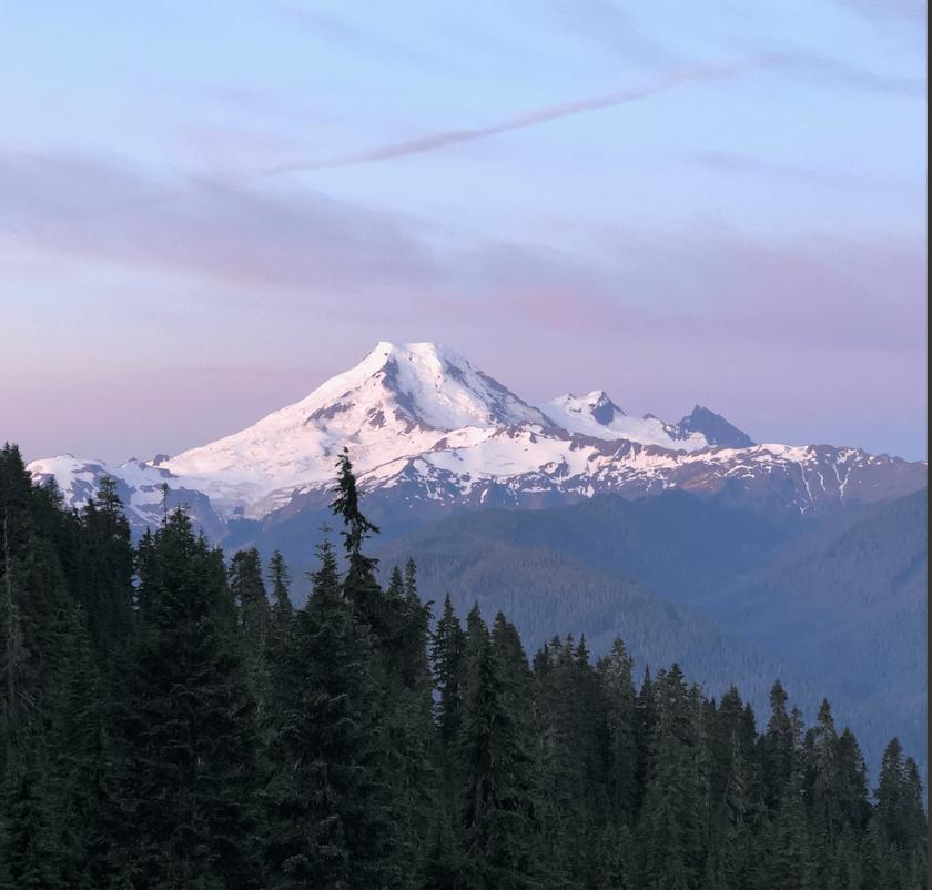 trip report, sunrise, cascades, Washington,