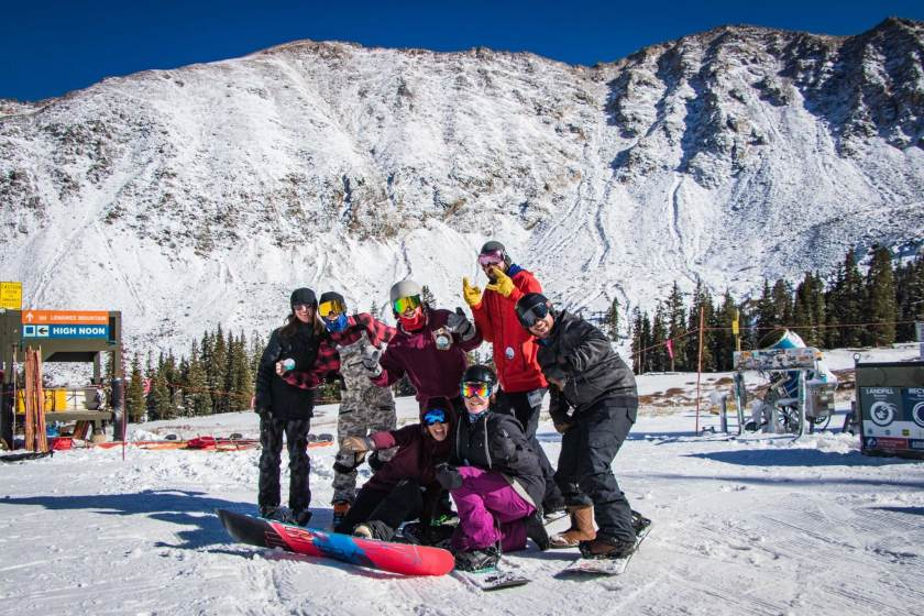 opening day, Arapahoe Basin, colorado, open resorts