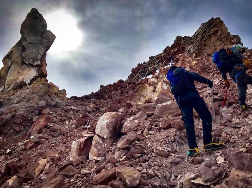 Mt. Shasta climbing