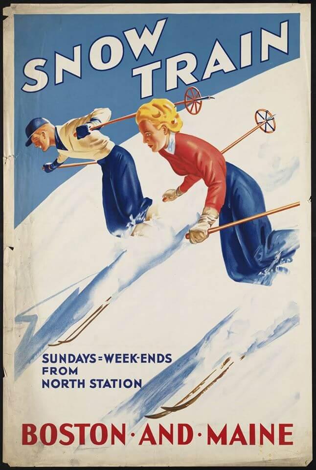 Snow Train Poster