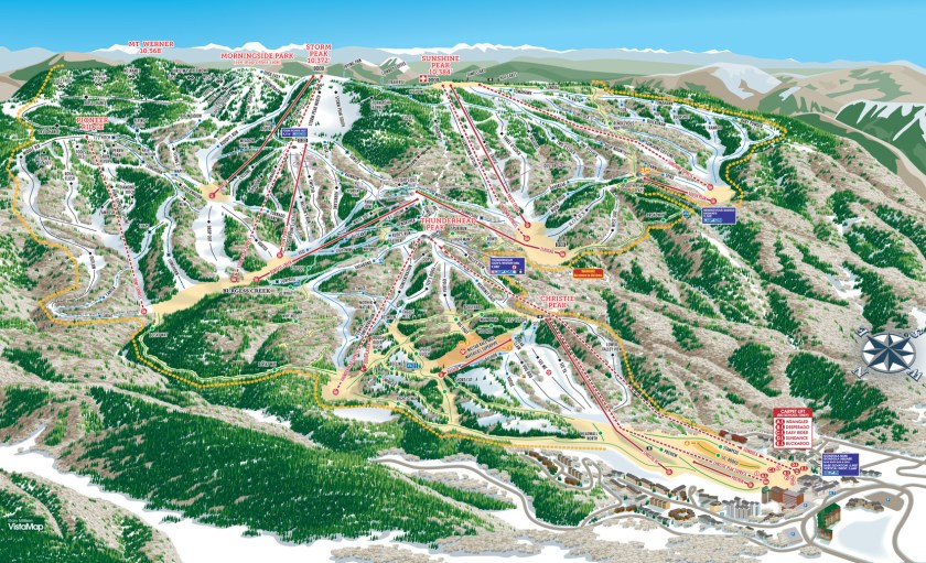 A map of Steamboat