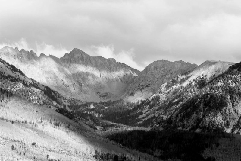 Snowy Mountains in Vail
