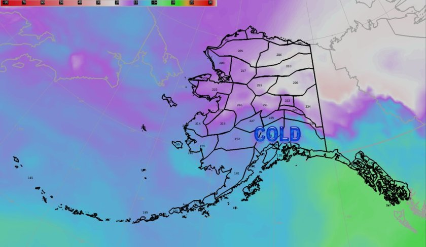 ANchorage Alaska Storm record snowfall winter