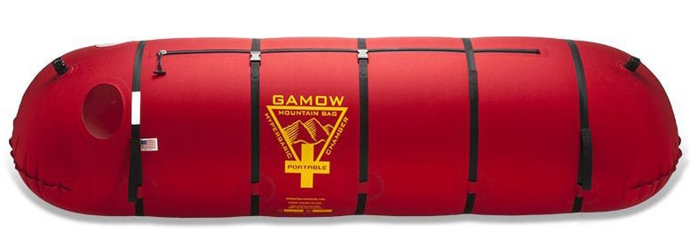 Gamow bags save lives.