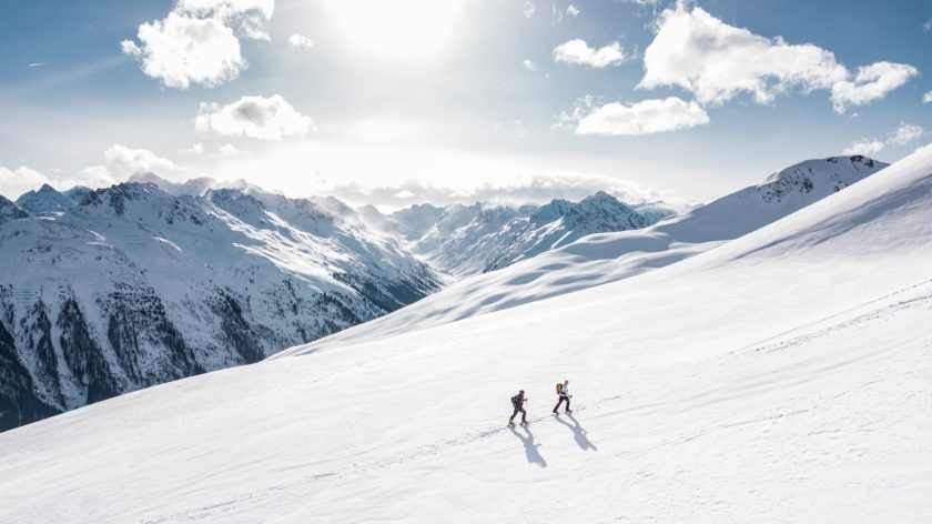 New app to connect skiers and make new friends.