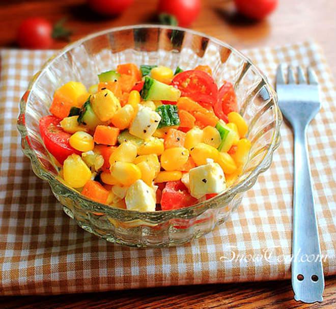美味蔬果沙拉 - 雪炭網