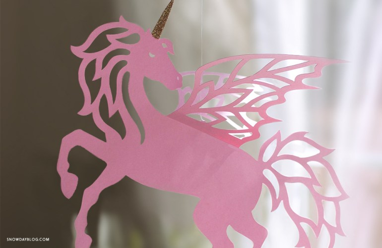 DIY Pink Unicorn