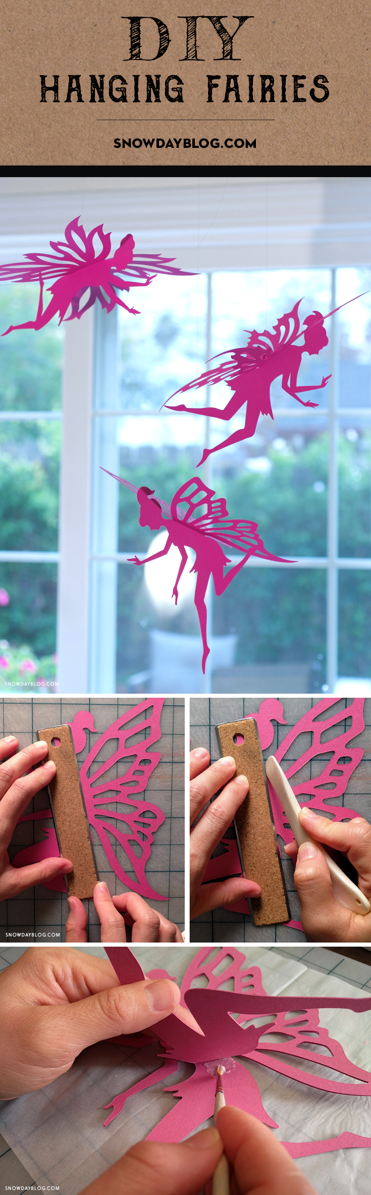 Hanging Fairies Pinterest Magenta