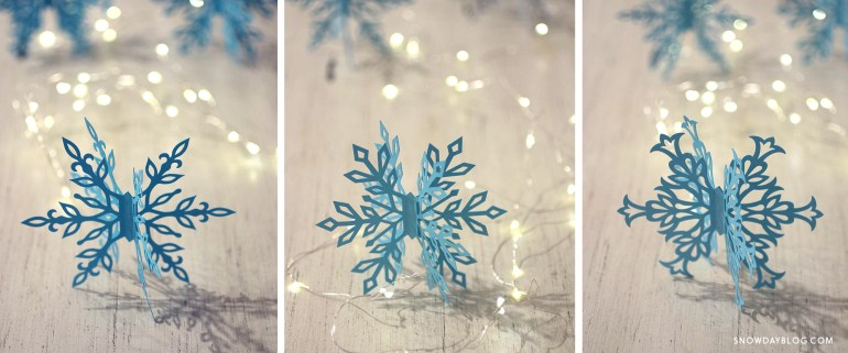 DIY 3D Snowflakes » Welcome to Snow Day!