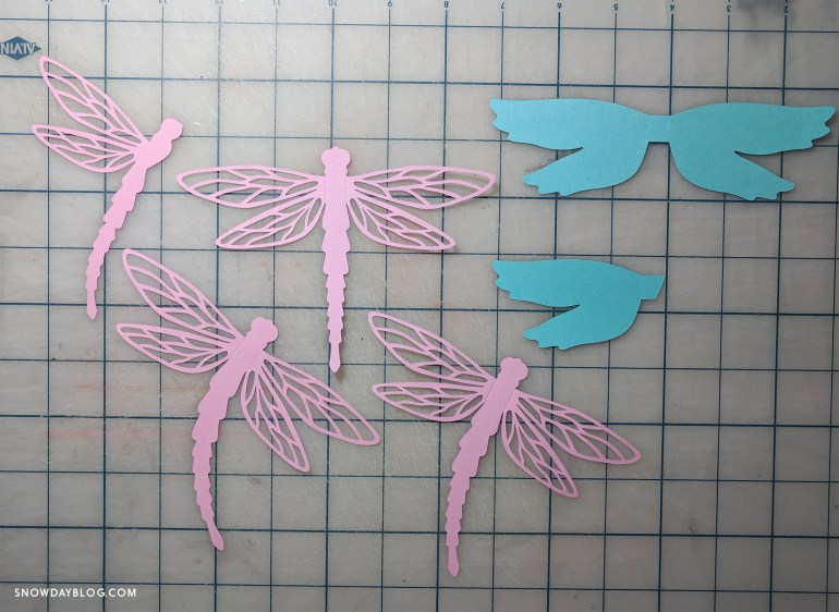 Dragonfly cut outs