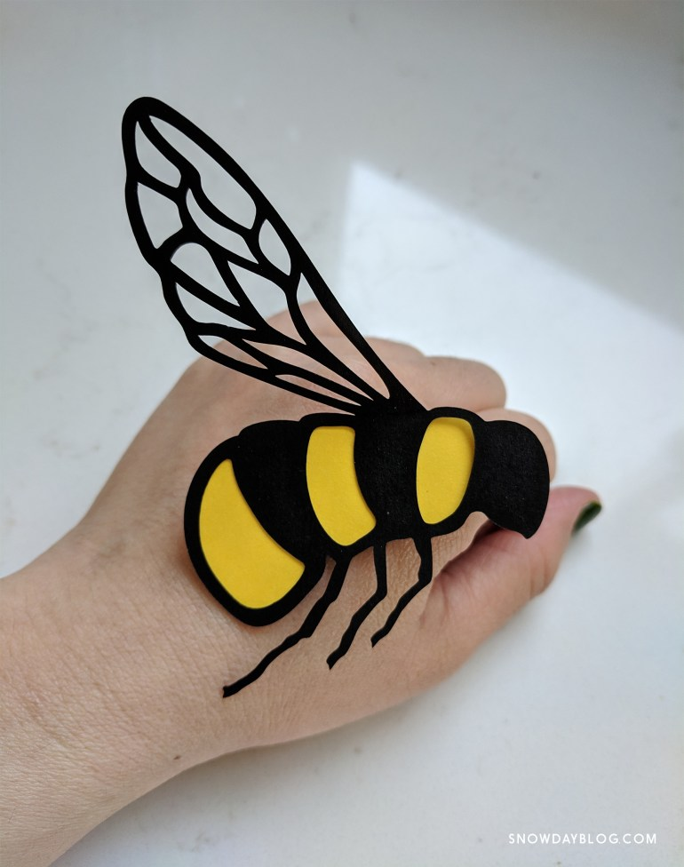 Bees Hand 3