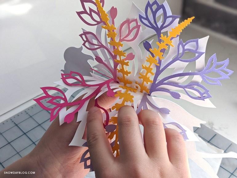 DIY FLower Garden Fairy wings