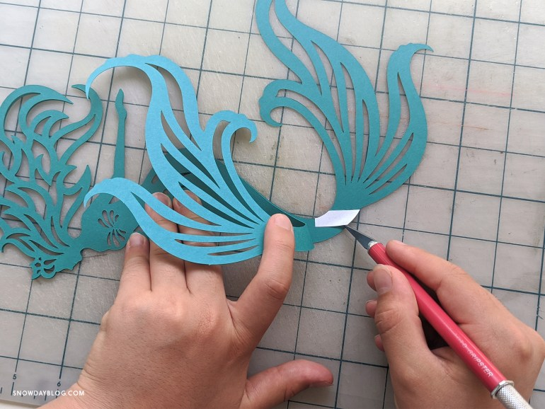 Mermaid kids craft
