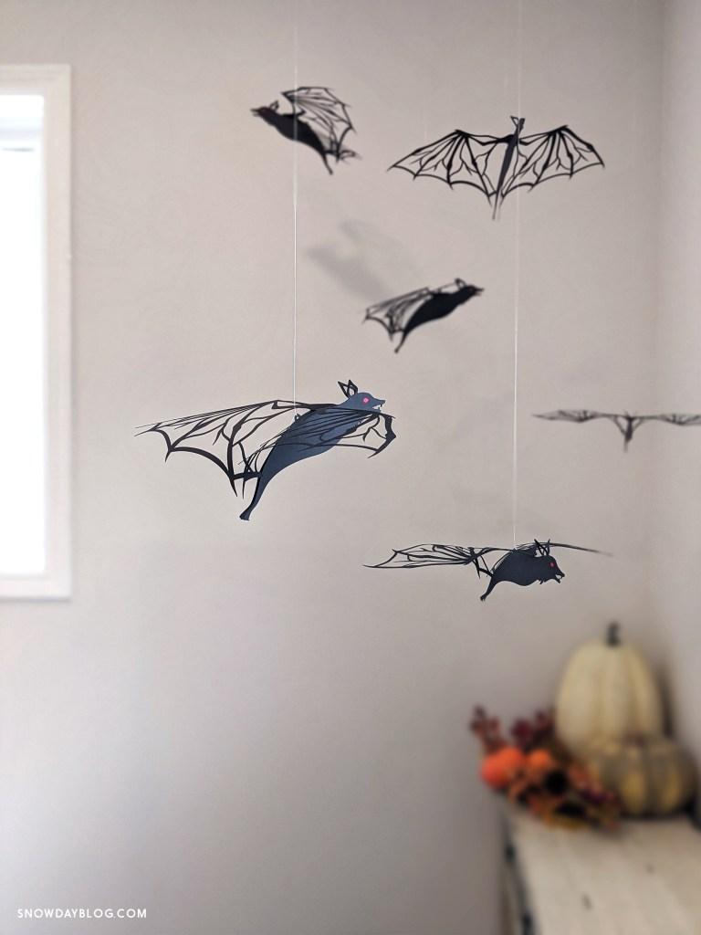 Halloween DIY bats