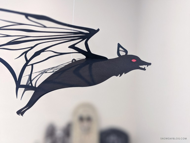 DIY Halloween bat