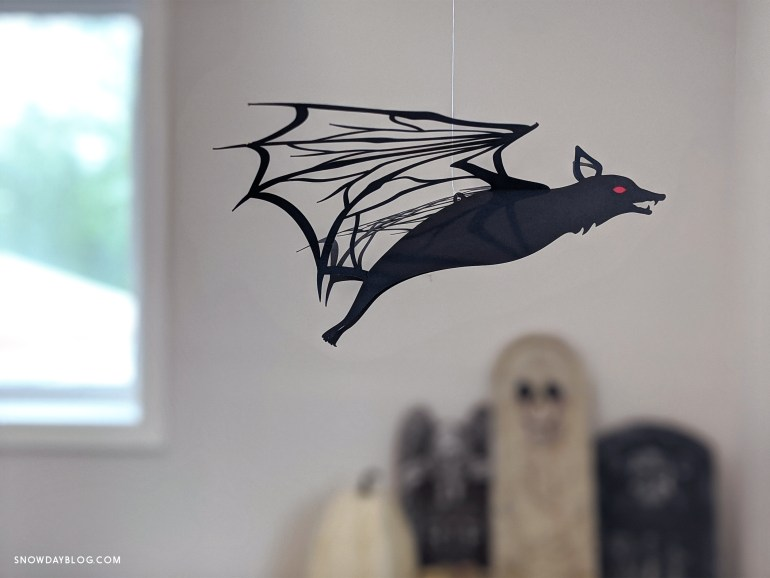 Flying bat DIY