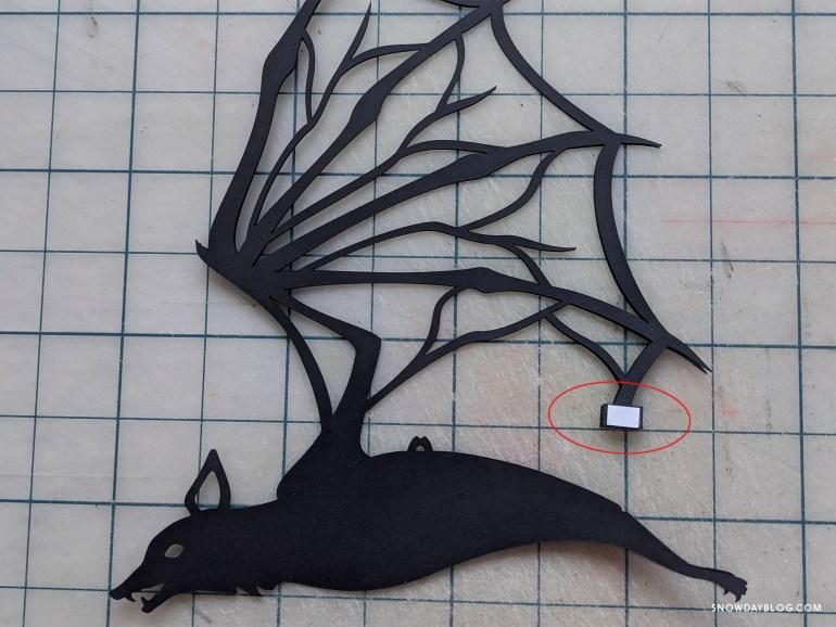 bat silhouette cricut