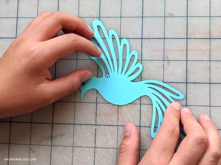 dove diy, aligning doves