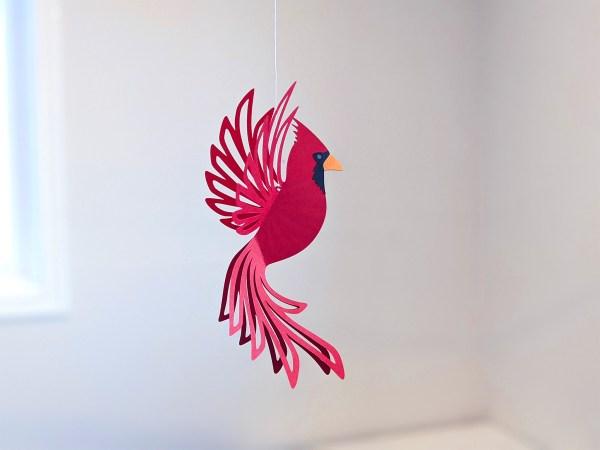 Hanging Cardinal